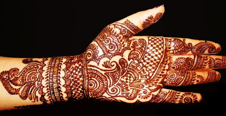 Henna Mehndi - Full Hand Bridal Mehndi Design