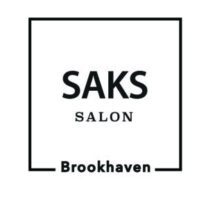 Saks Salon hair salons near me Haircut Waxing Eyebrow Threading Eyelash Extension Brookhaven Buckhead Logo