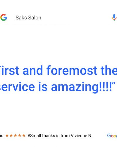 First and Formost The Service Is Amazing!!!!